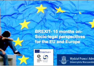 BREXIT 15 months on – socio-legal perspectives for the EU and Europe