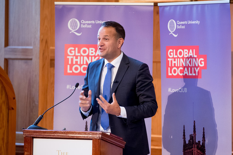Watch Leo Varadkar's Speech at Queen's University