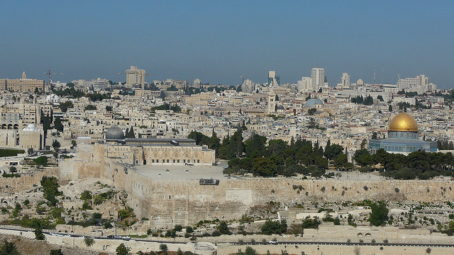 Jerusalem: securing spaces in holy places