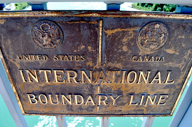 A Life Time Crossing the Border between the USA and Canada