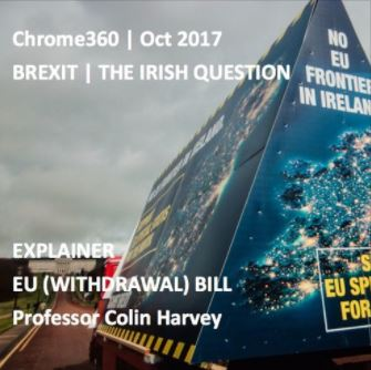 Brexit – the Irish Question: Podcast with Professor Colin Harvey