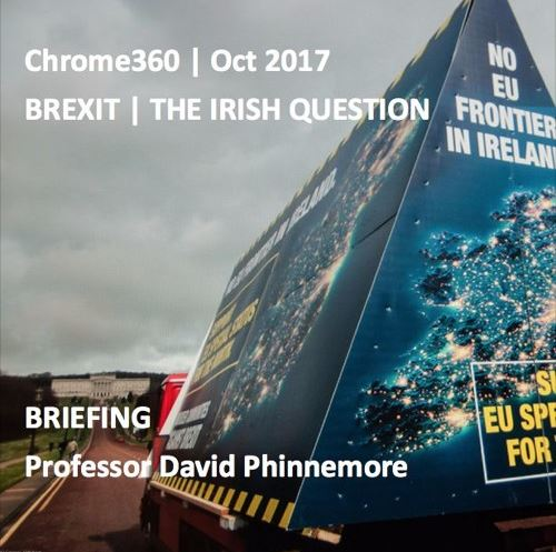 Brexit – the Irish Question: Podcast with Professor David Phinnemore