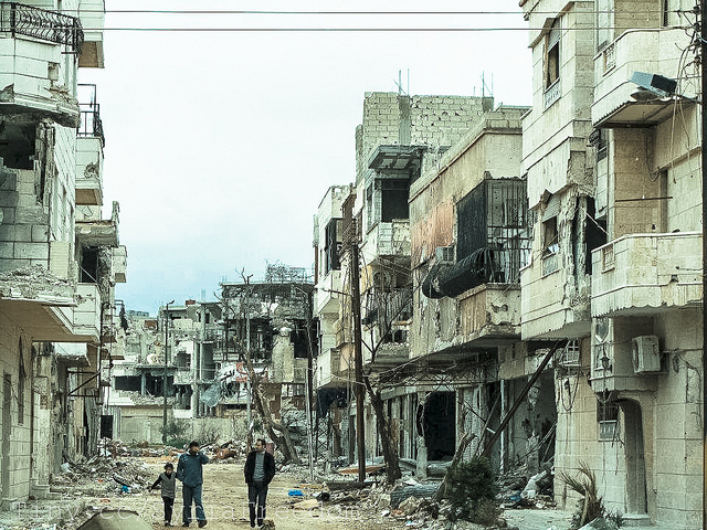 Syria: who's involved, and what do they want?