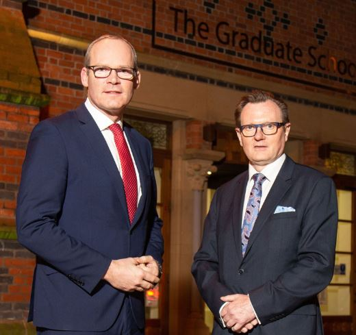 Queen's University welcomes Tánaiste Simon Coveney