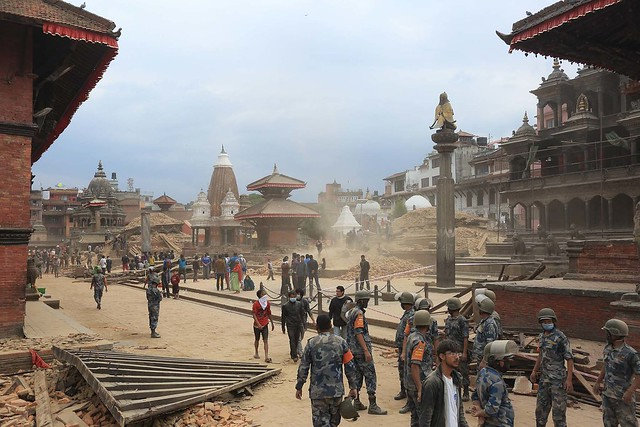 Kathmandu locals are fighting 'injustice' to save their city's heritage, years after deadly earthquake