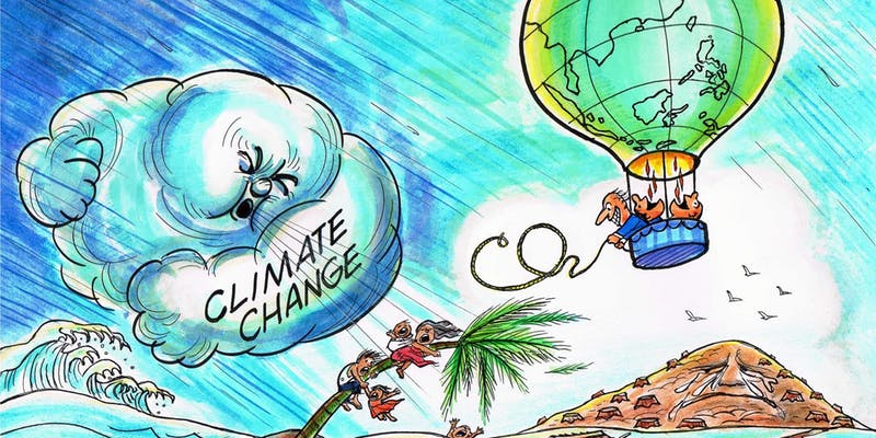Climate breakdown: The time to act is now…