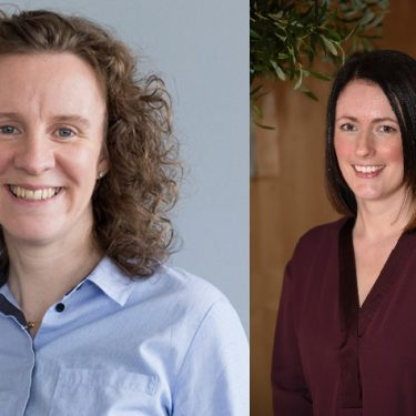 Dr Claire Kerr and Dr Karen McConnell