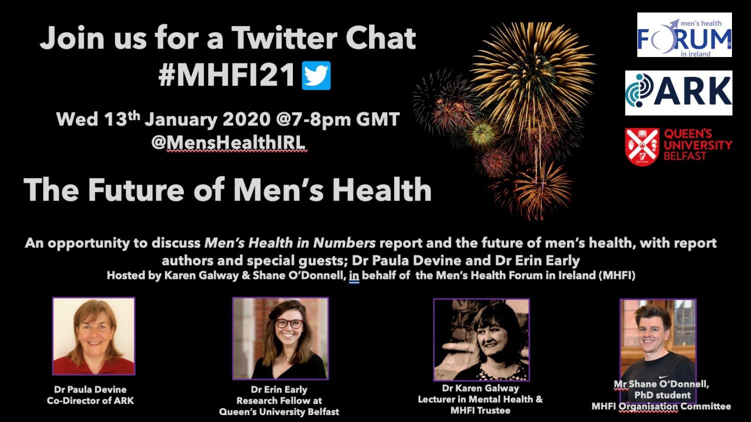 Men's Health Forum in Ireland launches key report for their 21st Birthday