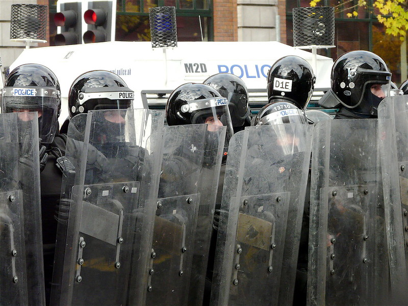 What caused the wave of rioting this Spring?