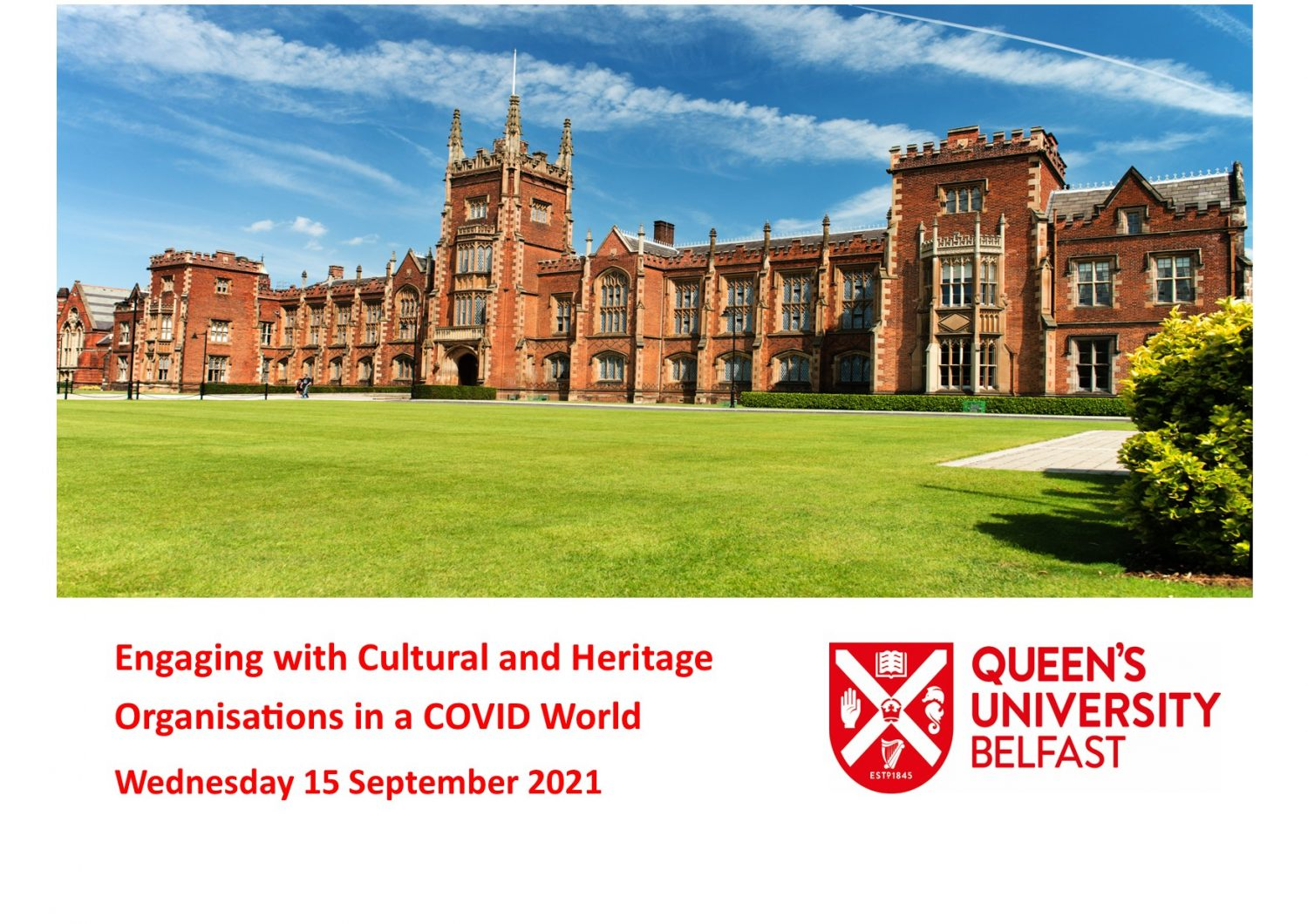 Engaging with Cultural and Heritage Organisations in a Covid World
